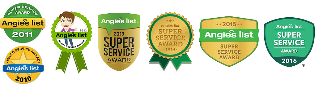 Angie's List <br> Super Service Awards